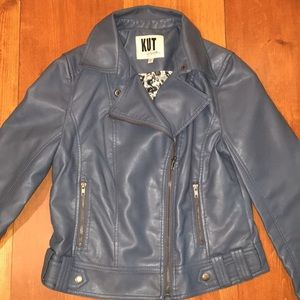 Kut From the Kloth faux leather jacket Sz M